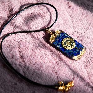 Lapis Lazuli Reiki Pendant Necklace