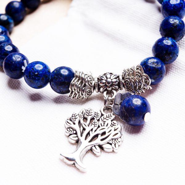Lapis Lazuli Tree of Life bracelet